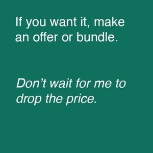 Other - Make an offer or bundle your likes